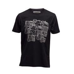 T-Shirt MULTIPLE OM-D Photographers, Organic Cotton, Om, Stylish, Tees, Prints, Mens Tops, T Shirt, Fashion