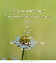 To the bravest mothers in the world... remembering and honoring you this International Bereaved Mothers Day.