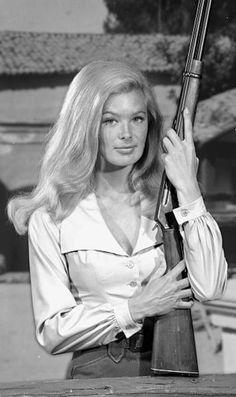Linda Evans in The Big Valley, 1965-1969.