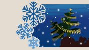 Send beautifully animated underwater Christmas e-cards in support of #ProjectAWARE