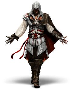 Ezio Auditore da Firenze - without a doubt, my favorite Assassin of the three.