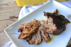 Rôti d'épaule de porc braisé à la bière et au sirop d'érable Cooking Recipes, Healthy Recipes, Carnitas, Lunch Time, Steak, Pork, Food And Drink, Beef, 20 Minutes
