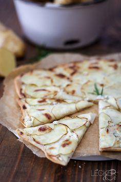 Wahrscheinlich habt ihr noch nie Kartoffelpizza gegessen, oder? Ich war auch total überrascht über den großartigen Geschmack. Ein Geheimtipp!