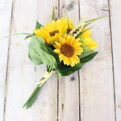 Silk Sunflower Bouqu