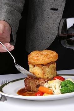 Gourmet Dining with Style | fine dining | food presentation