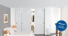 Mooie klassieke paneeldeuren voor de inbouw kledingkast Door jas2507