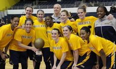 Drexel University Athletics website was awesome enough to give us photo credit for this shot we took of the women's basketball team at the #LIUTurkeyClassic #Champs