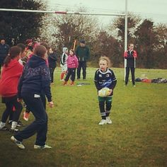Muireann in action #cilldararugby