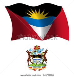 Find Antigua Barbuda Wavy Flag Coat Arms stock images in HD and millions of other royalty-free stock photos, illustrations and vectors in the Shutterstock collection. Thousands of new, high-quality pictures added every day. Coat Of Arms, Vector Art, Royalty Free Stock Photos, Flag, Learning, Illustration, Ideas, Antigua, West Indies