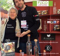 Con Diana Kennedy, la cual fue Homenajeada en la #FLICO en Museo Nacional de Culturas Populares, con una accesibilidad y sencillez admirable!!! buena vibra!!! #chefcms #bacanora #pascola #cdmx #mexicocity #denominacióndeorigen #cultura