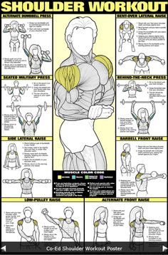 Shoulder Workout ~ Repinned by Crossed Irons Fitness