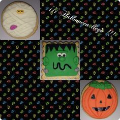 Galletas Halloween - cookies
