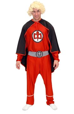 Are you walking on air?  Fans of Ralph Hinckley and The Greatest American Hero will want to dress up for Halloween this year in this officially-licensed The Greatest American Hero Red Costume Set.   This Greatest American Hero cosplay outfit won't allow you to fly through the air like Ralph but it'll put you in his costume as you pretend to fly around through friends at comic con.