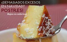 ¿Te pasaste con los dulces? Aquí tienes recetas de postres bajos en calorías para que no renuncies al dulce