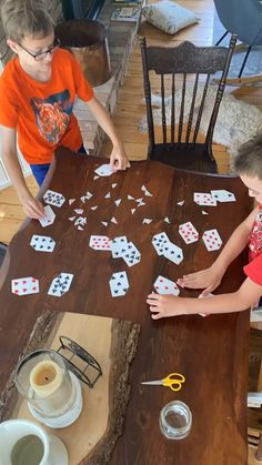 Grab a deck of playing cards, snip off the corners, and you have your very own homemade playing card puzzles! Three fun learning games to play with kids are matching, adding, and multiplying. It's a perfect quiet time activity, differentiated for kids of all ages!