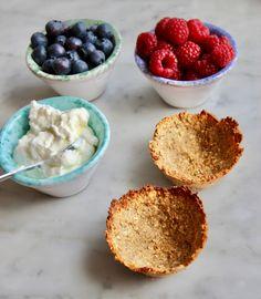 Nyttiga glutenfria mellanmålscups | Glutenfritt Liv Gluten Free Cakes, Love Is Sweet, Sweet Sweet, Taste Buds, Tapas, Dairy Free, Good Food, Food And Drink, Snacks