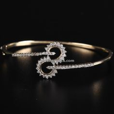 PC jewellers diamond bangle designs - Latest Jewellery Designs