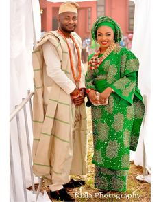 Cute couple  Bride Promise + Akin Delta  Yoruba  #Deltawedding  makeup @Beautymatterz(Osamu)  Ado oke and beads @bimmms24  #promisetoloveakin