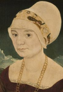Philadelphia Museum of Art - Collections Object : Portrait of a Lady by Martin Schaffner. 733 [Note: Martin Schaffner worked in Ulm, Swabia] 16th Century Clothing, 16th Century Fashion, Historical Costume, Historical Clothing, Beginning Embroidery, Renaissance Portraits, Renaissance Fashion, John Johnson, German Costume