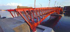 Bridges Borneo-Sporenburg 1998-2001, Amsterdam, The Netherlands