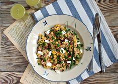 salad sałatka z szynką, serem feta, suszonymi pomidorami food, foodfoto, salad, yummy, foddie, foodpics