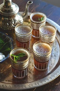 This Moroccan Mint Tea looks delicious!