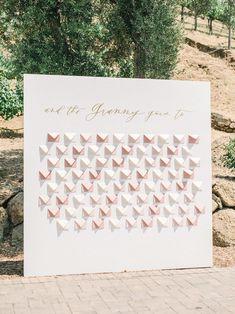 Alfresco wedding in Malibu  PHOTOGRAPHER Tenth & Grace  FLORALS Shindig Chic BAKERY  CEREMONY + RECEPTION VENUE Cielo Farms  DESIGN + PLANNING Details Darling