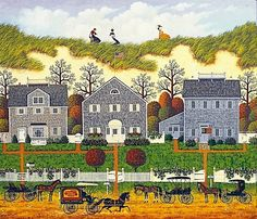 """Nantucket Winds"" 7th in the Legacy Series by Charles Wysocki"