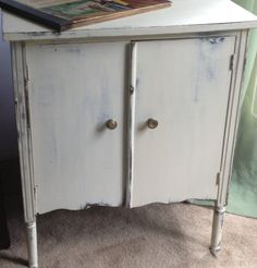 Vintage Album Cabinet or Side Table  available on Etsy.