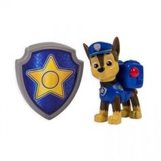Paw Patrol Chase Action Pack Pup & Badge from Spin Master