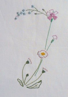 Field flowers alphabet - J – French Needlework Kits, Cross Stitch, Embroidery, Sophie Digard – The French Needle