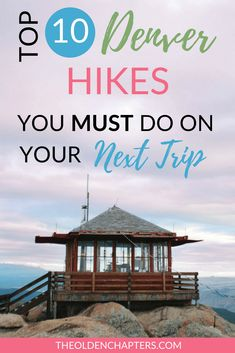 These ten hikes make up the top ten hikes near Denver, CO. This list is the ultimate Colorado adventure list you must add to your bucket list! Denver Colorado Hiking, Hikes Near Denver, Denver Travel, Boulder Colorado, Travel Usa, Colorado Springs, Hawaii Travel, Italy Travel, Denver Vacation