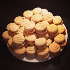 Vanilla Melting Moments. Family and friends love these! I use Rachel Allen's recipe.