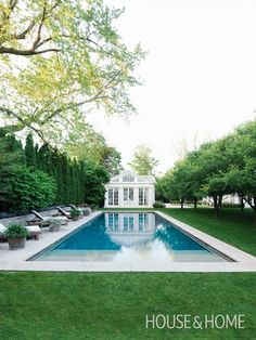 Stately Garden   Photo Gallery: Perfect Pools   House & Home   Photo by Michael Graydon