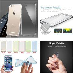 TPU Rubber Ultra Thin Bumper Case Cover For Apple iPhone 6 / 6 plus skin  #UnbrandedGeneric