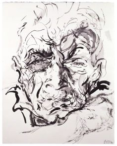 John Berger by Maggi Hambling .