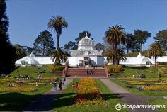 Golden Gate Park - Conservatory of Flowers #sanfrancisco #goldengatepark #dicaparaviagens