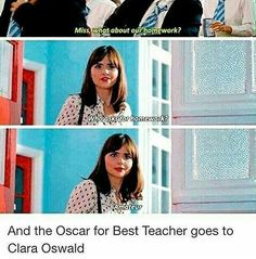 Claraaa!! Goodness, I'd like to be that kind of teacher some day!!
