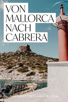 Cabrera ist eine kleine Insel vor Mallorca. Tipps für einen Ausflug mit dem Boot ab Mallorca! Mit dem Boot von Colonia Sant Jordi nach Cabrera, ins Naturschutzgebiet. Toller Insidertipp und Bootstour für Mallorca! #mallorca #cabrera #urlaub #bootstour #reise Menorca, Reisen In Europa, Wonderful Places, Spain, Hotels, Travel, Spain Travel, Fun Places To Go, Viajes