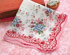 A handkerchief always reminds me of my grandmother.  She always had one in her pocket.