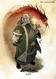 Iroh | Avatar: The Last Airbender / The Legend of Korra | Know ...