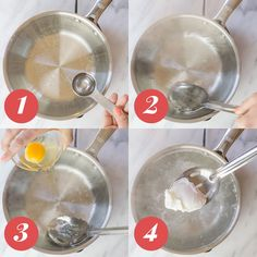4 Ways to Perfectly Poach an Egg: Whirlpool Method Breakfast Snacks, Breakfast Recipes, Poched Eggs, Easter Eggs, Best Poached Eggs, Healthy Dinner Recipes, Cooking Recipes, What's Cooking, Bariatric Recipes