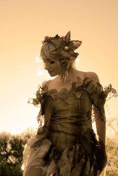 fairytalefashion:    Dewdrop Fairy - costume made and modeled byLilyxandra
