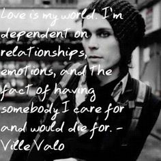 Valo brings light to his need for connection