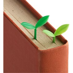 set of 6 sprout bookmarks