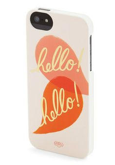 Nice to Greet You iPhone 5/5S Case, #ModCloth