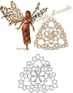 схемы треугольные мотивы крючком Finger Crochet, Wire Crochet, Thread Crochet, Crochet Doilies, Crochet Flowers, Crochet Lace, Crochet Stitches, Crochet Motif Patterns, Loom Knitting Patterns