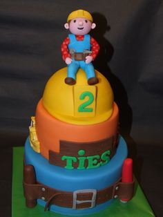 Bob the builder birthday cake tesco