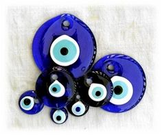 A nazar (Turkish: nazar boncuğu Old Turkic: gökçe munçuk) is an eye-shaped amulet believed to protect against the evil eye | Take Turkish language with you on holiday with our uTalk app http://eurotalk.com/utalk/