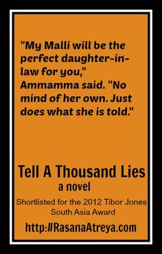 Frequently shared lines from the novel 'Tell A Thousand Lies.'